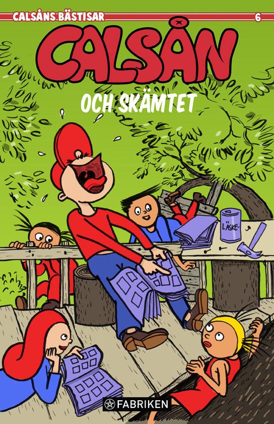 Comics Calsån ©Jalmar Staaf