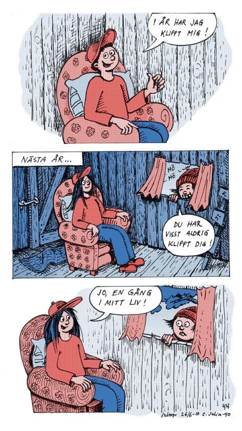 Comics Calsåns filosofiska funderingar ©Jalmar Staaf