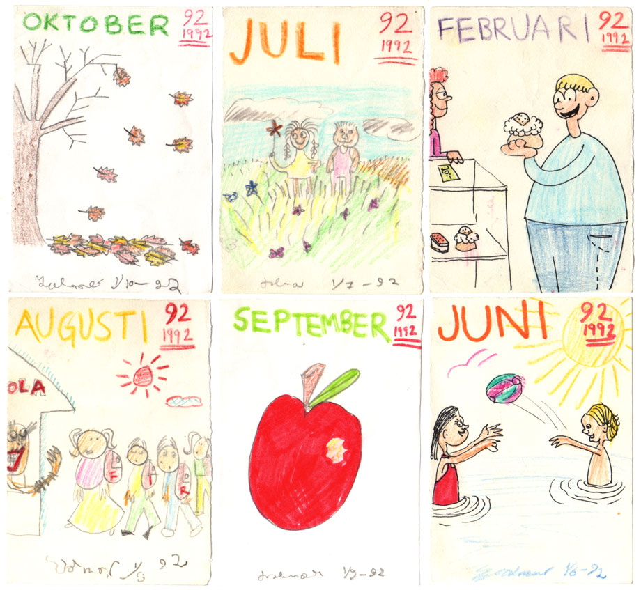 Illus-a-month 1992 ©Jalmar Staaf