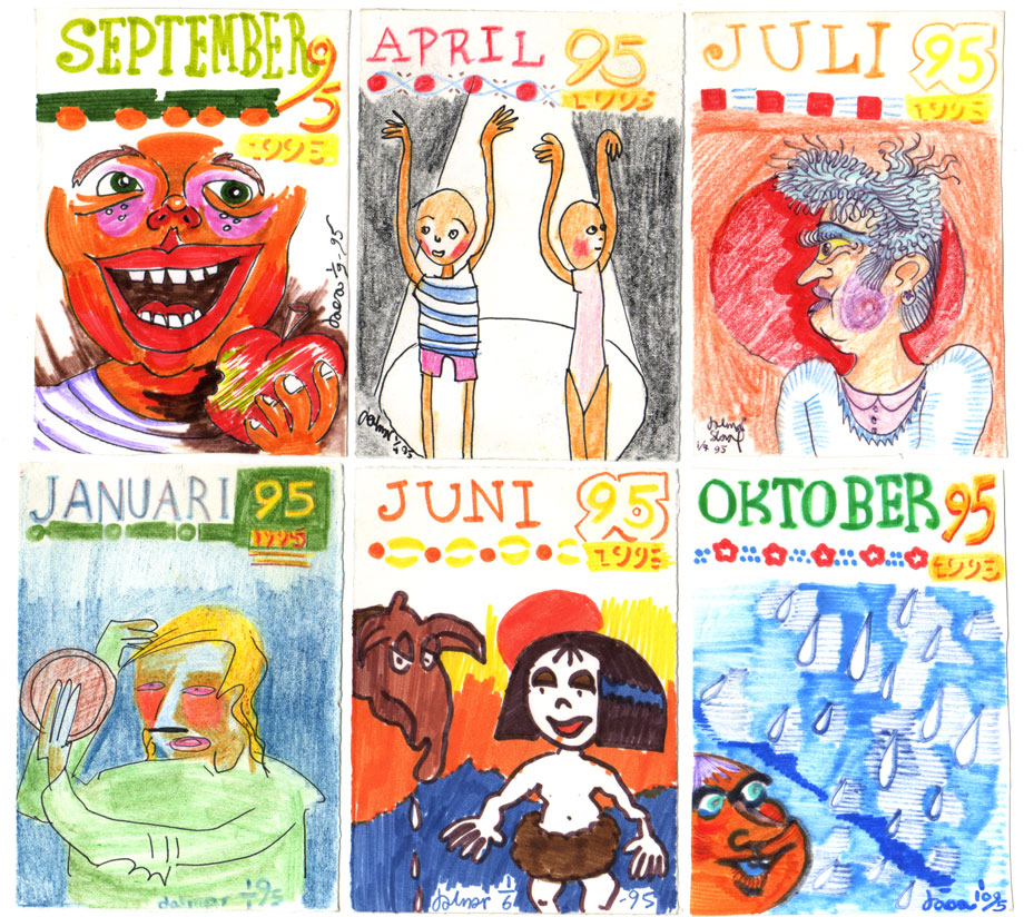 Illus-a-month 1995 ©Jalmar Staaf