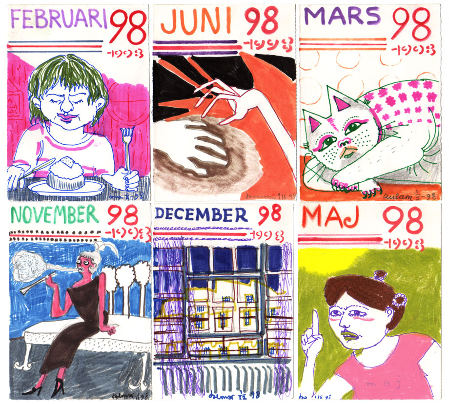 Illus-a-month 1998 ©Jalmar Staaf