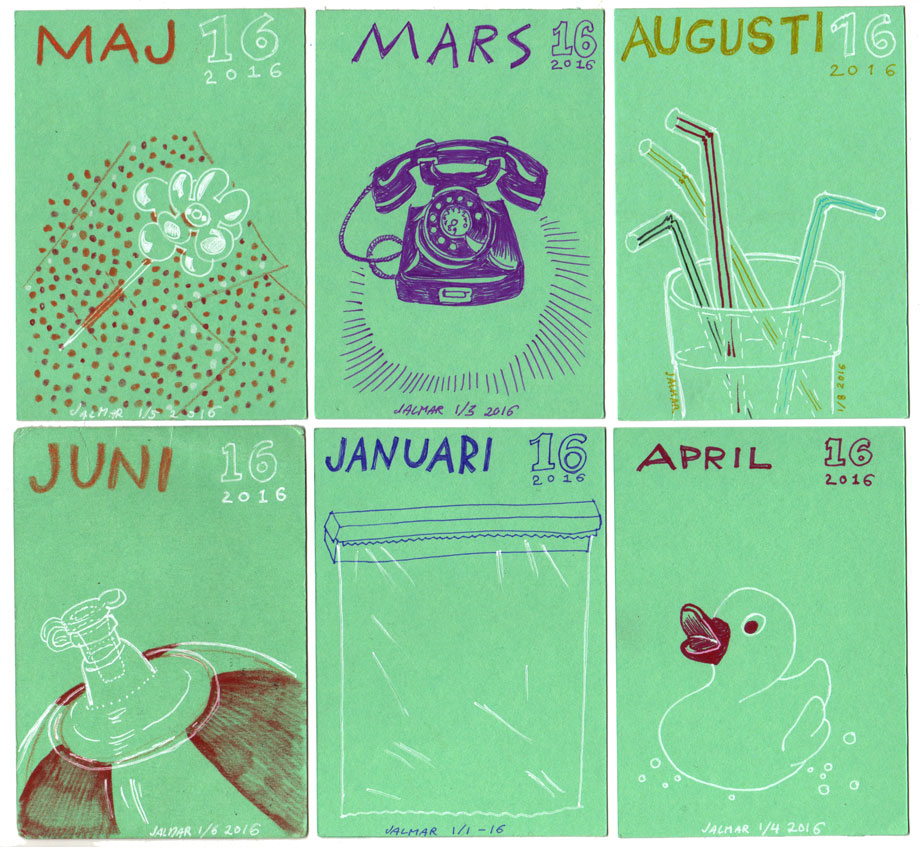 Illus-a-month 2016 ©Jalmar Staaf