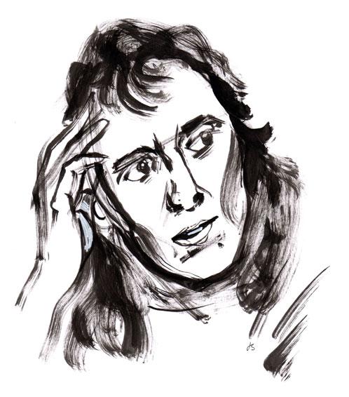 Katarina Taikon Drawing Portrait ©Jalmar Staaf