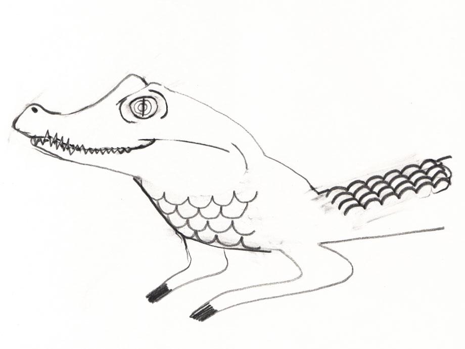 Pet Portrait Spectacled caiman ©Jalmar Staaf
