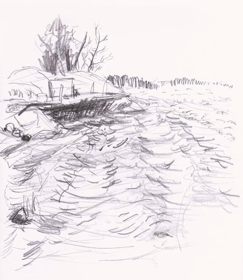 Sankt Anna Drawing ©Jalmar Staaf