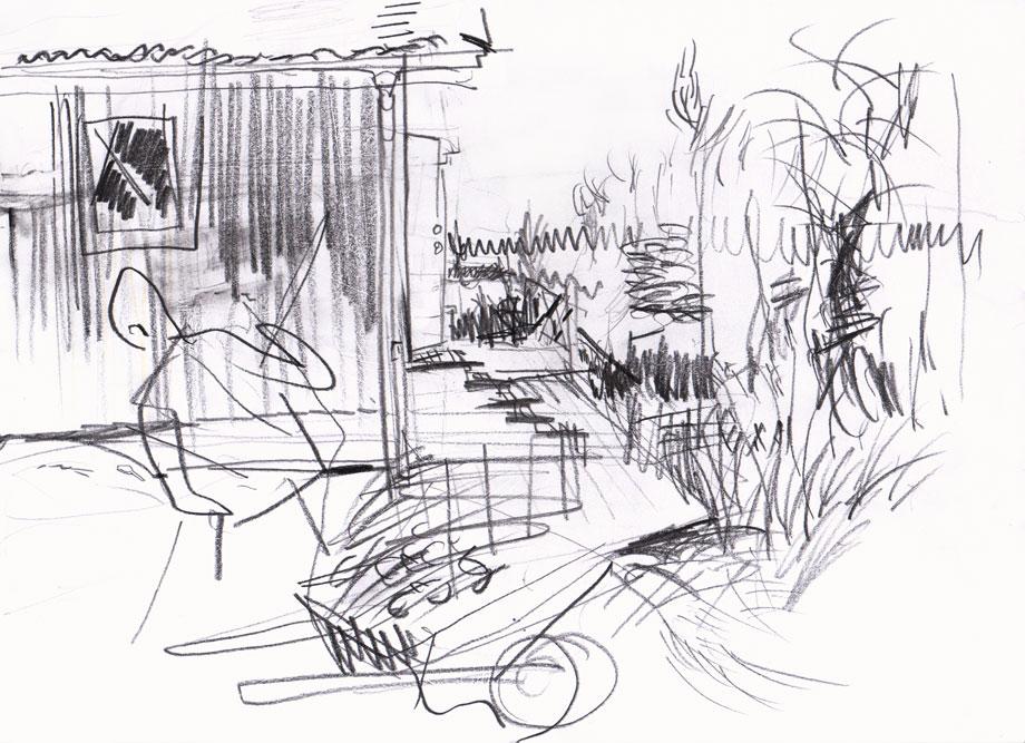 Live sketch Sankt Anna ©Jalmar Staaf