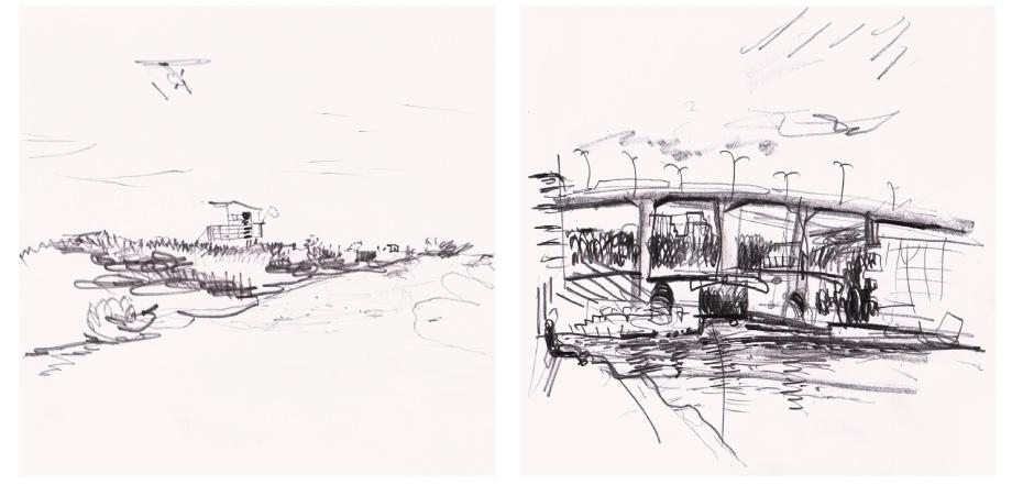 Live sketch Miami, Stockholm ©Jalmar Staaf