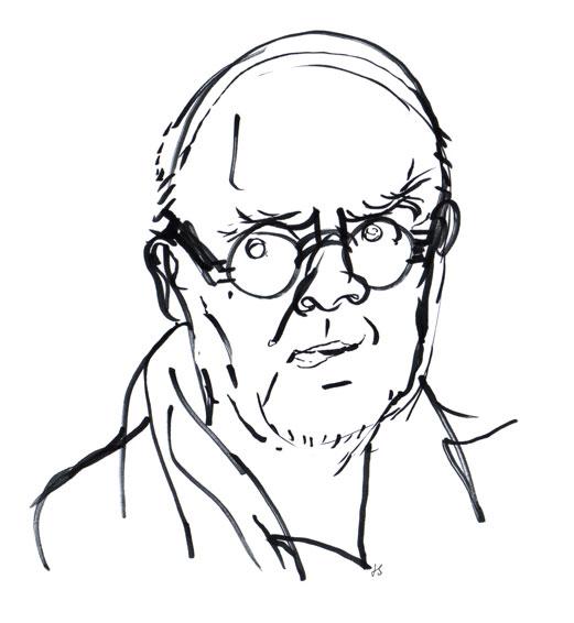 Wolf Erlbruch Drawing Portrait ©Jalmar Staaf