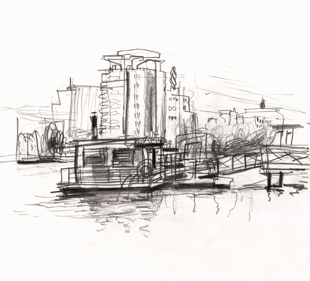 Live Sketch Stockholm, Hornstull, Tantobastun ©Jalmar Staaf