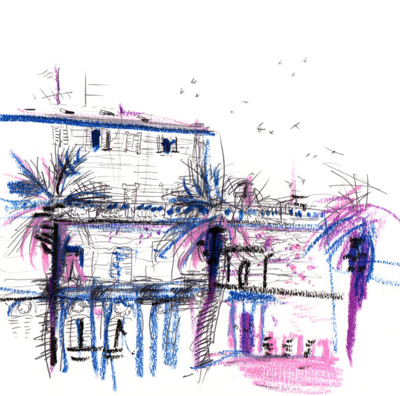 Live sketch Croatia, Split - Diocletian Palace ©Jalmar Staaf