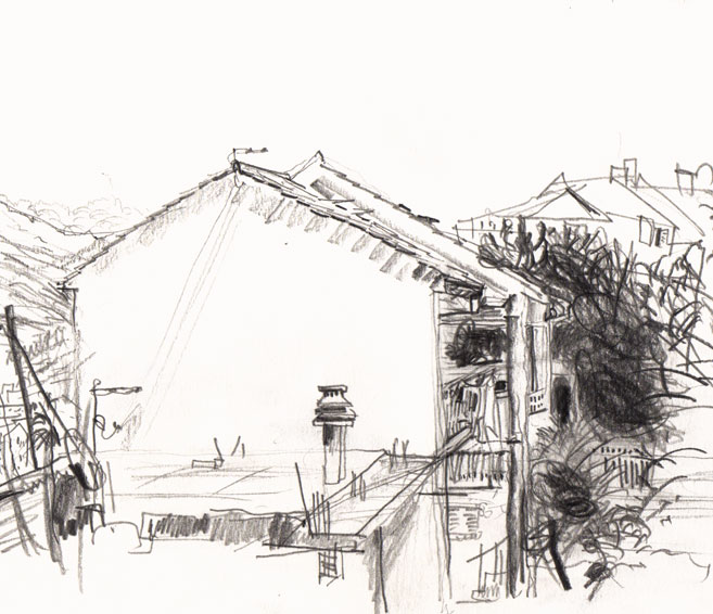 Live sketch Croatia, Stobreč - Stobrec ©Jalmar Staaf