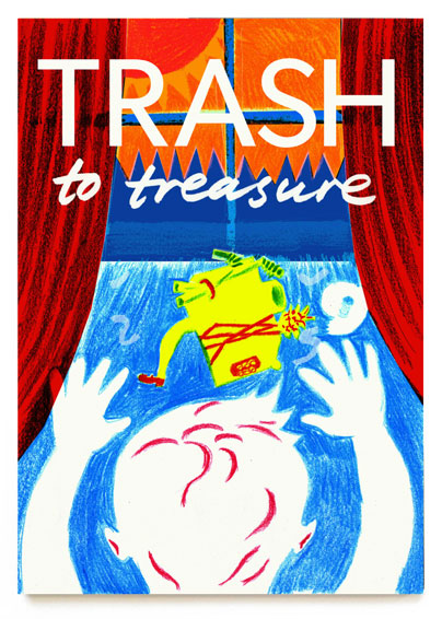 Book Cover & Poster Trash To Treasure ©Jalmar Staaf